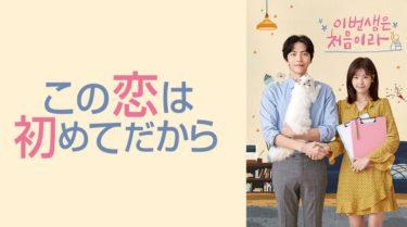 【この恋は初めてだから】韓国ドラマ動画をフル無料視聴!全22話を日本語字幕で
